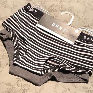 8 10 M DKNY panties boy shorts